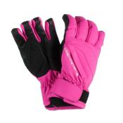 Obermeyer Alpine Girls Gloves, Knockout Pink, medium