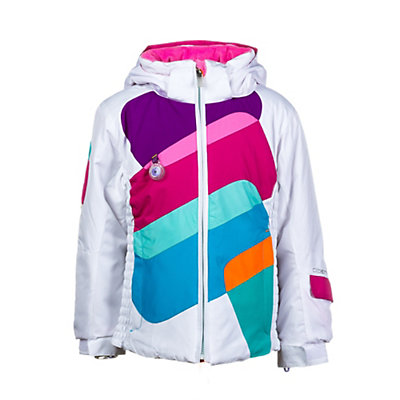 Obermeyer Prism Toddler Girls Ski Jacket, Glacier Blue, viewer