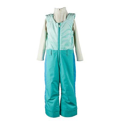 Obermeyer Warm Up Bib Toddler Girls Ski Pants, Iris Purple, viewer