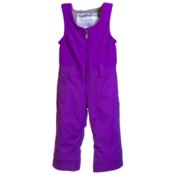 Obermeyer Warm Up Toddler Girls Bib, Iris Purple Solid, medium