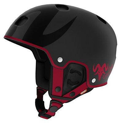POC Receptor Bug Tanner Hall Helmet, Uranium Black, viewer