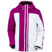 Obermeyer Kai Girls Ski Jacket, Aster, medium