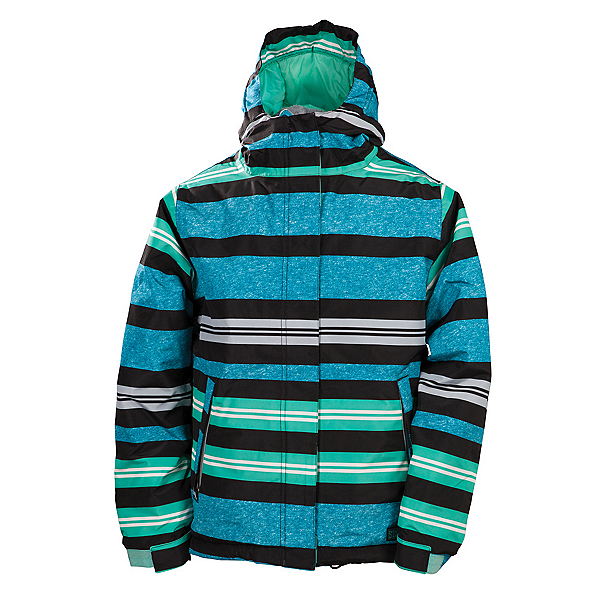 686 Mannual Heather Insulated Girls Snowboard Jacket, Mint, 600