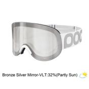 POC Lid Goggles 2016, Hydrogen White-Bronze Silver Mirror, medium