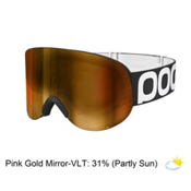 POC Lid Goggles, Uranium Black-Pink Gold Mirror, medium