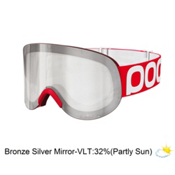 POC Lid Goggles, Bohrium Red-Bronze Silver Mirror, medium