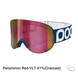 POC Lid Goggles, Lead Blue-Persimmon Red Mirror, 256