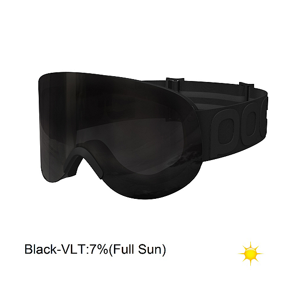POC Lid Goggles, All Black-Black, 600