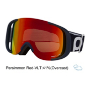 POC Cornea Goggles, Lead Blue-Persimmon Red Mirror, medium