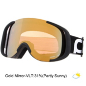 POC Cornea Goggles, Uranium Black-Pink Gold Mirror, medium