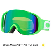 POC Cornea Goggles, Iodine Green-Persimmon Green Mirror, medium