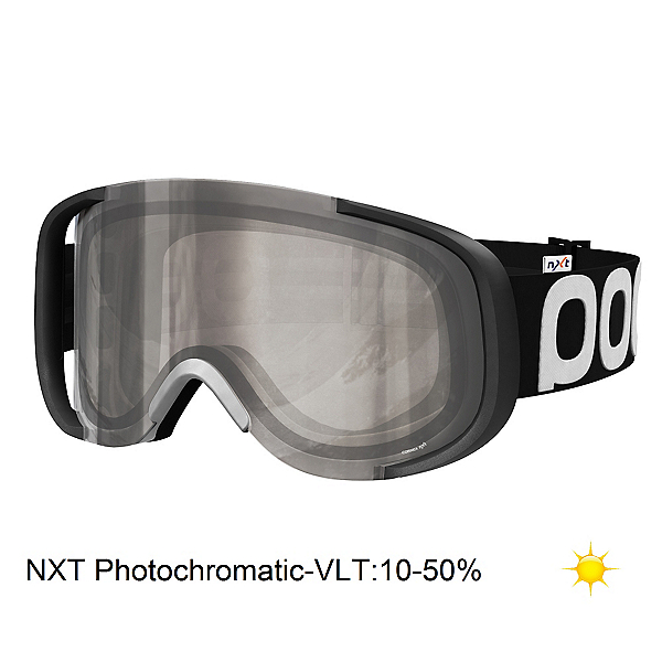 POC Cornea Photo Goggles, Uranium Black-Nxt Photochromatic, 600