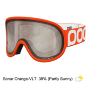 POC Retina Big NXT Goggles, Zink Orange-Orange Sonar, medium