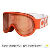 POC Retina Goggles, Zink Orange-Sonar Orange, medium