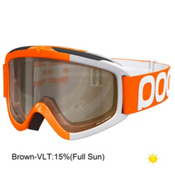 POC Iris Comp Large Goggles, Zink Orange-Brown Clear + Bonus Lens, medium