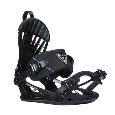 K2 Cinch CTS Snowboard Bindings, Black, viewer