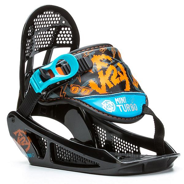 K2 Mini Turbo Kids Snowboard Bindings, , 600