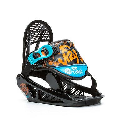 K2 Mini Turbo Kids Snowboard Bindings, , viewer