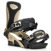 Ride Capo Snowboard Bindings 2016, Gold, medium