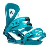 Ride Revolt Snowboard Bindings, Aqua, medium