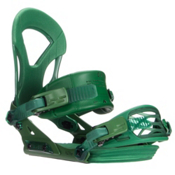 Ride EX Snowboard Bindings 2016, Green, medium