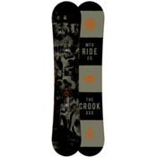 Ride Crook Snowboard, 158cm, medium