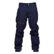 Cappel Calling Mens Snowboard Pants, Ink Navy Melange, medium