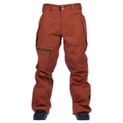Cappel Calling Mens Snowboard Pants, Copper Rust Work Wear, medium