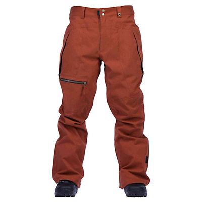 Cappel Calling Mens Snowboard Pants, Onyx Black Melange, viewer