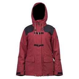 Cappel Thunder Womens Insulated Snowboard Jacket, Rusty Rose Tweed, 256