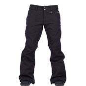 Cappel Wasted Womens Snowboard Pants, Onyx Black Melange, medium
