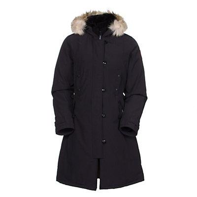 Canada Goose Kensington Parka Womens Jacket, Black, viewer