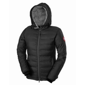 Canada Goose Camp Hoody Womens Jacket, Black, medium