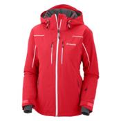 Columbia Millennium Blur Womens Insulated Ski Jacket, Red Hibiscus, medium