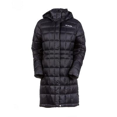 Columbia Hexbreaker Long Womens Jacket, Black, viewer