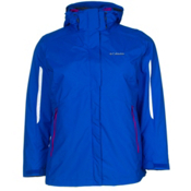Columbia Bugaboo Interchange Womens Insulated Ski Jacket, Blue Macaw, medium