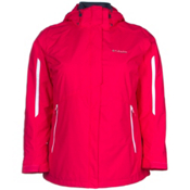 Columbia Bugaboo Interchange Womens Insulated Ski Jacket, Ruby Red, medium