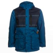 O'Neill Ambush Mens Insulated Snowboard Jacket, Blue Sapphire, medium