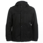 O'Neill Utility Mens Insulated Snowboard Jacket, Black Out, medium