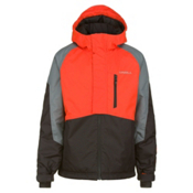 O'Neill Hawking Boys Snowboard Jacket, Alpha Red, medium