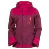 O'Neill Coral Womens Insulated Snowboard Jacket, Framboise Pink, medium