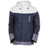 O'Neill Coral Womens Insulated Snowboard Jacket, Sunrise Blue, medium