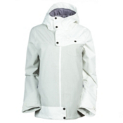 O'Neill Line Up Womens Insulated Snowboard Jacket, Powder White, medium