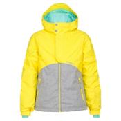 O'Neill Coral Girls Snowboard Jacket, Sunshine Yellow, medium