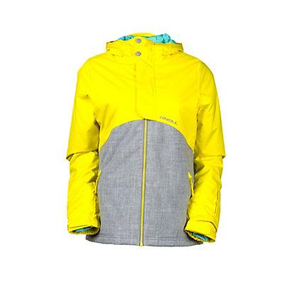 O'Neill Coral Girls Snowboard Jacket, Sunshine Yellow, viewer