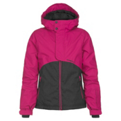 O'Neill Coral Girls Snowboard Jacket, Framboise Pink, medium