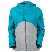 O'Neill Coral Girls Snowboard Jacket, Pagoda Blue, medium