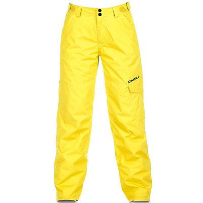 O'Neill Volta Kids Snowboard Pants, Chrome Yellow, viewer