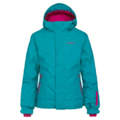 O'Neill Jewel Girls Snowboard Jacket, Pagoda Blue, medium