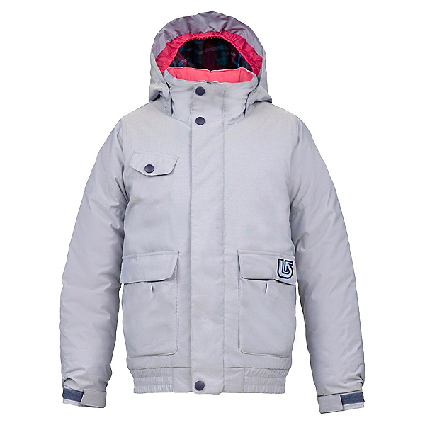 Burton Twist Bomber Girls Snowboard Jacket, Chambray, 600